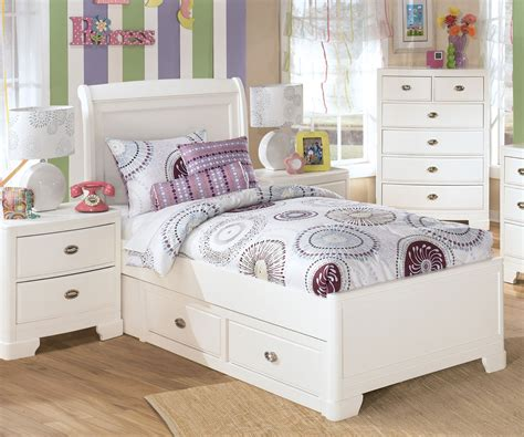 Bedroom Amusing Ashley Furniture Girl Beds Teenage