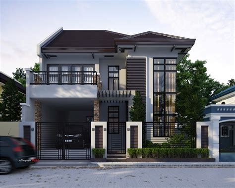 2 Storey Home Designs : Small House Design Philippines 2 Storey