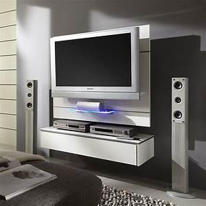 Meuble Tv Suspendu Conforama : meuble tele suspendu maison design ~ Dailycaller-alerts.com Idées de Décoration