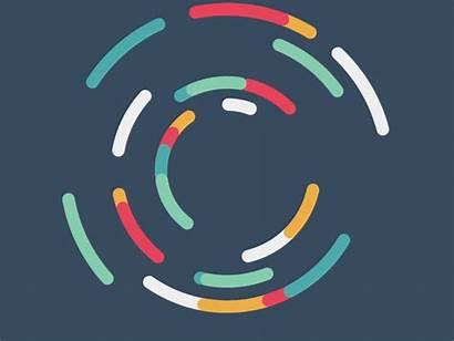 Motion Dribbble Circles Circle Learnings Gifs Key