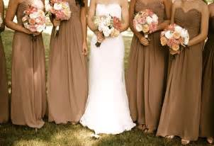 fall color bridesmaid dresses most popular fall wedding colors of 2014