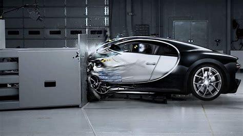 Bugatti Chiron Crash Test 2016 Youtube