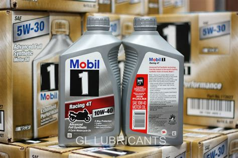 Mobil 1 Racing 4t 10w40 Motorcycle Oil One Quart