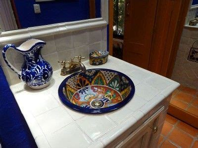 mexican hand painted sink love    sale