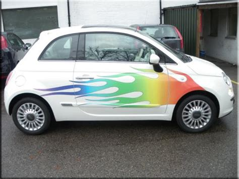 Fiat 500 Graphics by Fiat 500 Car Graphics Vinyl Creations