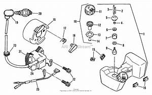 Snapper 2150 Rolling Trimmer Parts Diagram For 2150r T  Fuel Tank And Rotor