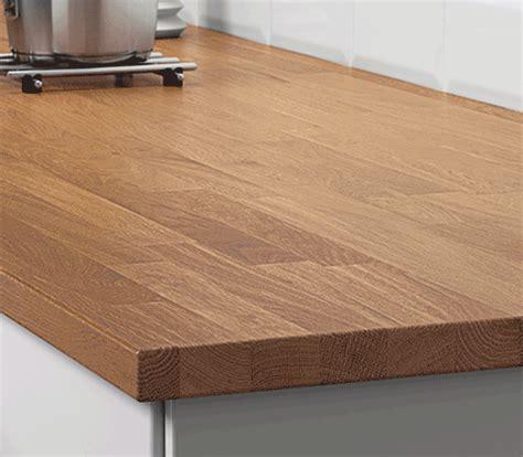 cuisine plan de travail bois massif plan de travail cuisine sur mesure en bois ou stratifié
