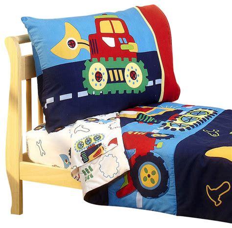 bulldozer toddler bed construction toddler bedding set bulldozer bed