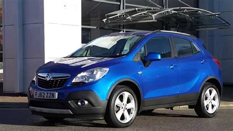 vauxhall blue 2013 62 plate vauxhall mokka 1 7 cdti exclusiv 5dr in blue