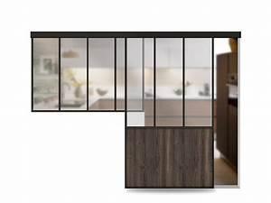 porte verriere coulissante atelier sur mesure aluminium With porte de garage coulissante et bati porte interieure