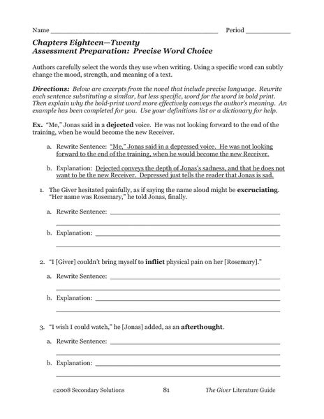 Word Choice Worksheet Free Worksheets Library  Download And Print Worksheets  Free On Comprar