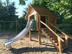 Rutsche Kinder Garten : kinderspielhaus f r u3 und 3 kinder besendahl ~ Articles-book.com Haus und Dekorationen