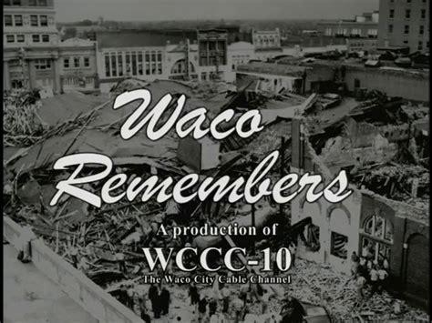 Mary Halve Chapman - The 1953 Waco Tornado on Vimeo