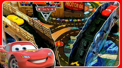 Cars 3 Risky Raceway Game! Lightning Mcqueen, Cruz Ramirez