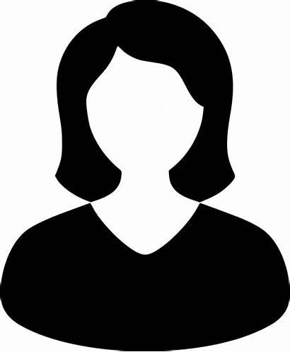 Icon User Female Svg Onlinewebfonts Cdr Irene