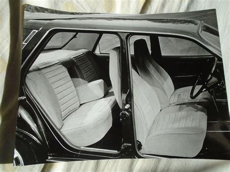 Ts Interiors by Renault 12 Ts Interior Press Photo Undated V1 Ebay