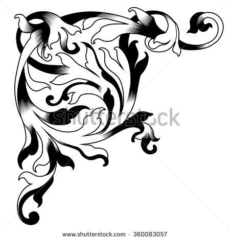 silhouette windblown hair profile stock vector 38302570