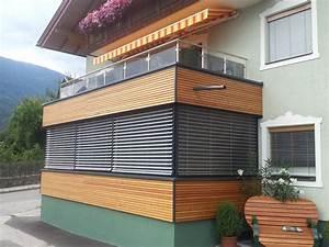 Sichtschutz Für Balkongeländer : balkonverkleidung holz swalif ~ Markanthonyermac.com Haus und Dekorationen