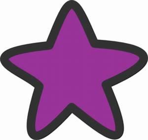 Purple Star For Starry Clip Art at Clker.com - vector clip ...
