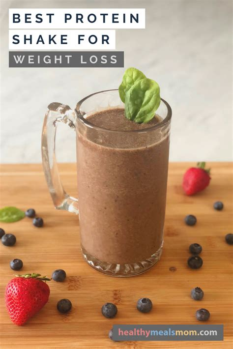 protein shake  weight loss healthy meals mom