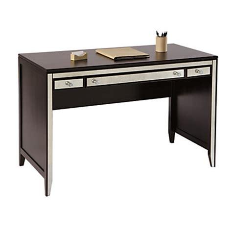 see jane work desk see jane work vivien mirrored desk 30 h x 47 14 w x 23 18