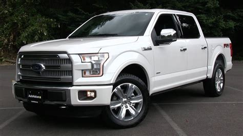 2015 ford f 150 platinum fx4 start up test drive and in depth review
