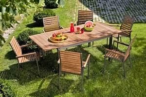 Mobilier Jardin Bois : entretenir mon salon de jardin ~ Premium-room.com Idées de Décoration