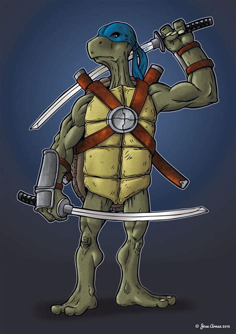 leonardo TMNT by jarnac on DeviantArt