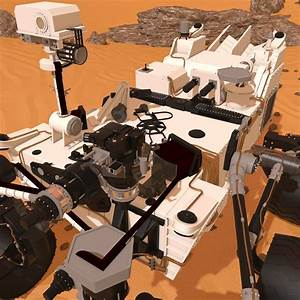 Curiosity Rover Mars  Manual Hand Textures Dirt