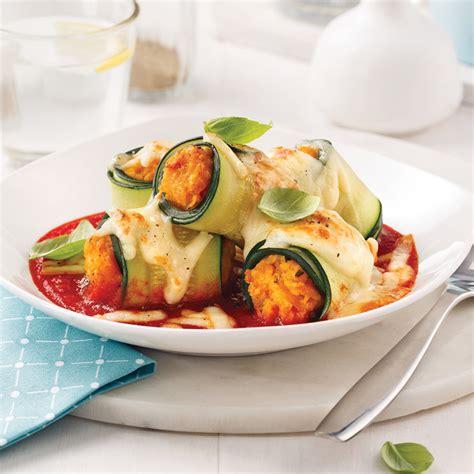 cuisine des courgettes cannellonis de courgettes farce à la courge recettes