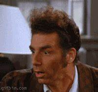 Kramer Is Shocked | Best Funny Gifs Updated Daily