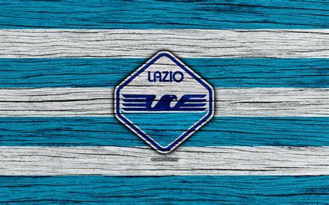 Scarica sfondi Lazio, 4k, Serie A, new logo, Italy, wooden ...