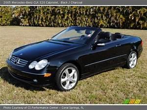 Mercedes Clk 320 Cabriolet : black 2005 mercedes benz clk 320 cabriolet charcoal interior vehicle ~ Melissatoandfro.com Idées de Décoration