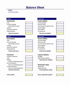 balance sheet 18 free word excel pdf documents With corporate balance sheet template