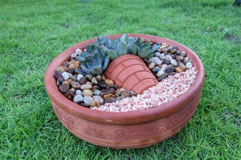 วิธีจัดสวนถาดด้วยกุหลาบหิน ทำเองได้ง่าย ๆ ใช้งบแค่ 240 บาท ...