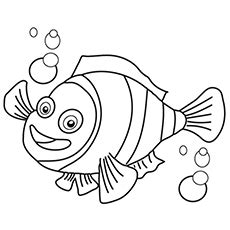 clown fish coloring page  getcoloringscom  printable colorings pages  print  color