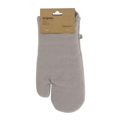 gants de cuisine avignon gants gris tissu habitat