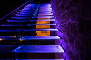 Edgelit  Color Changing Stairs