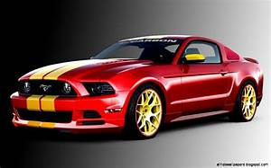 Elegant Red Ford Mustang Cars All HD Wallpapers