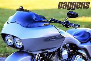 Racing Caf U00e8  Harley Road King 2004 By Native Custom Baggers