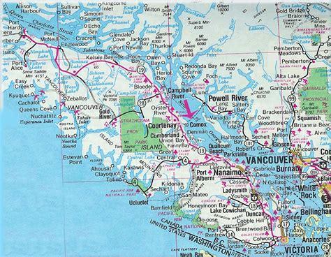 canada victoria island map pictures
