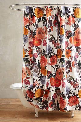 best 20 floral shower curtains ideas on white
