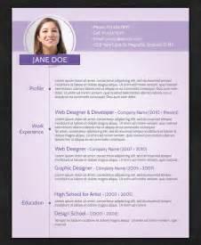 Resume Templates 21 Stunning Creative Resume Templates