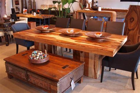 table en bois de a vendre pr 244 ner le m 233 lange de styles l 233 ger design