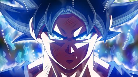 wallpaper wounded son goku ultra