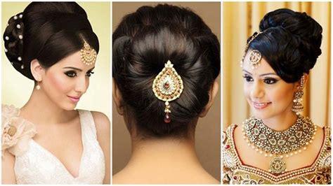 simple indian wedding hairstyles  medium