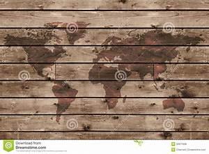 Carte Du Monde En Bois : vieille texture en bois avec la carte du monde photo stock image 50971608 ~ Teatrodelosmanantiales.com Idées de Décoration