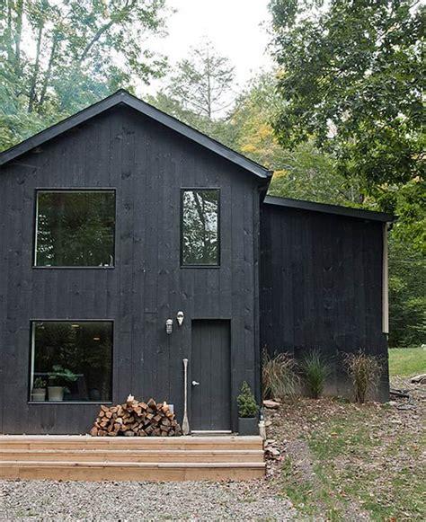 Black Exterior Architecture House I Architektur Schwarze
