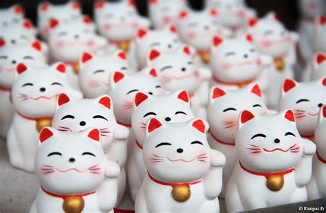 maneki neko le chat porte bonheur japonais