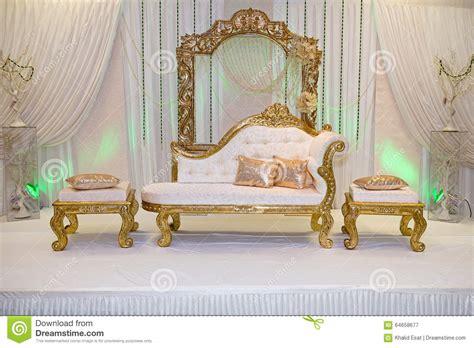 wedding stage stock photo image